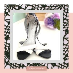 Black & White Sandals from Kelly&Katie